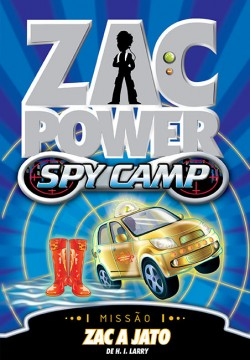 Zac Power Spy Camp - Zac a jato