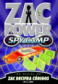 Zac Power Spy Camp - Zac decifra códigos