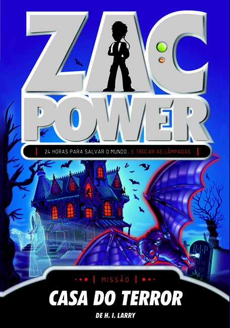 Zac Power 18 - Casa do terror
