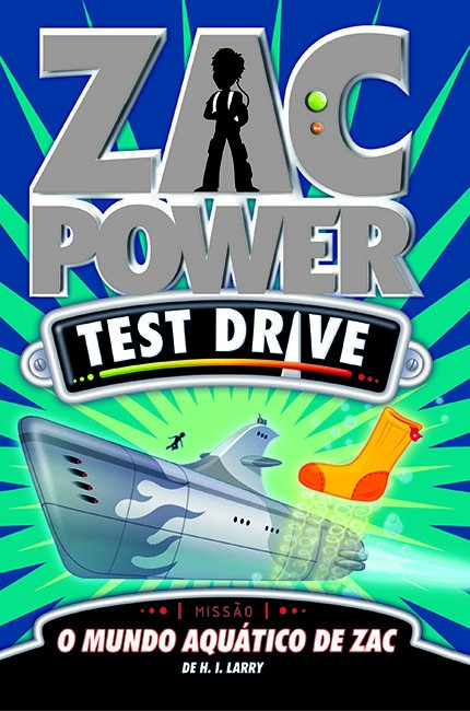 Zac Power Test Drive 10 - O mundo aquático de Zac