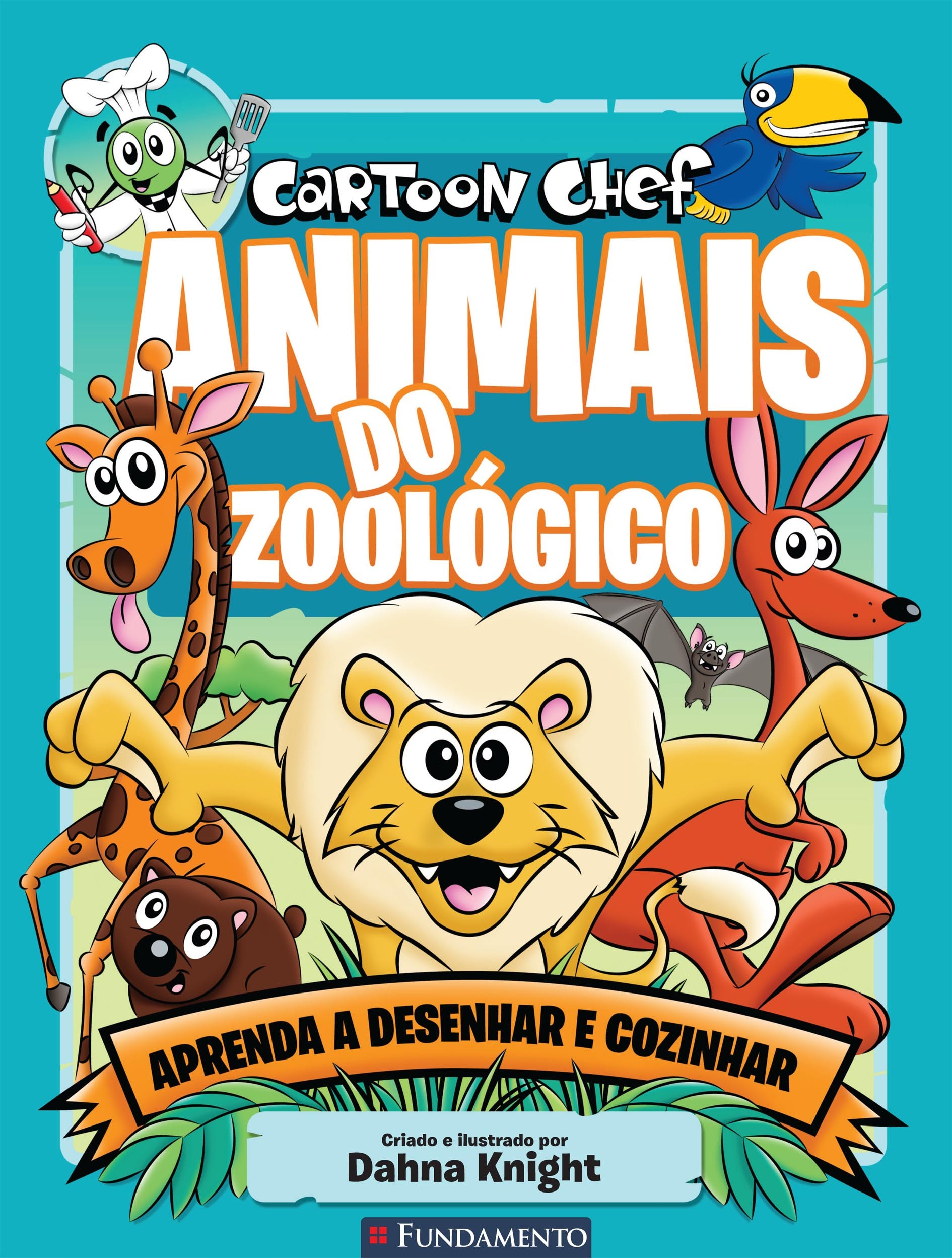 Cartoon Chef - Animais do zoológico