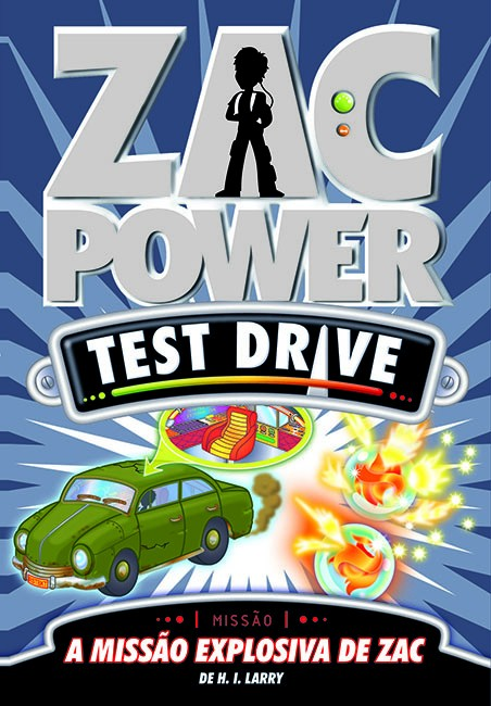 Zac Power Test Drive 07 - A missão explosiva de Zac