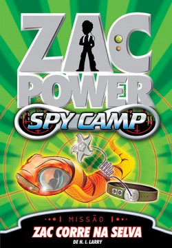 Zac Power Spy Camp - Zac corre na selva