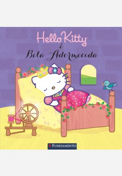 Hello Kitty - Hello Kitty é bela adormecida