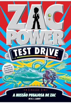 Zac Power Test Drive 04 - A missão pegajosa de Zac