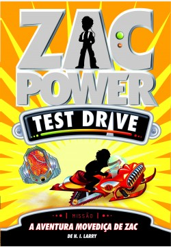 Zac Power Test Drive 14 - A aventura movediça de Zac